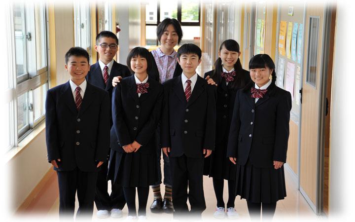 静岡県富士見高等学校制服画像