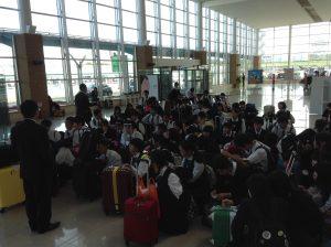 H28.9.29 11時 函館空港で搭乗準備中。これから帰ります。